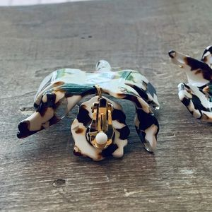 Lele Sadoughi Jewelry - Lele Sadoughi Paper Lily Earrings